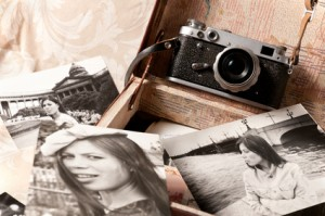 Alte analoge Kamera